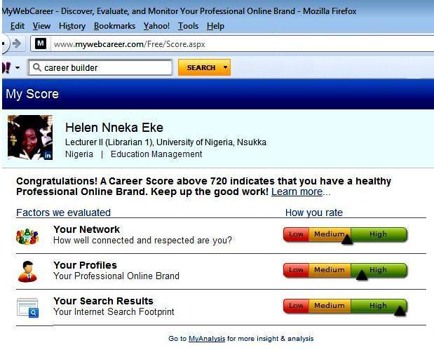 Figure 1. WebCareer Registration