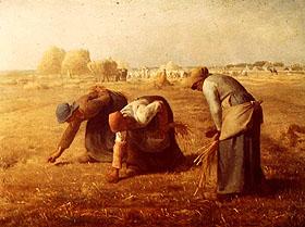 Jean-Francois Millet, Les Glaneurs, 1867